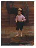 Boy Fishing at 58 1/2 East 10th Street, 1871