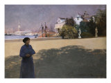 Along the Grand Canal, 1887 Giclee Print