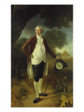 Portrait of David Garrick, Full Length, c.1763-64