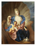 Portrait of the Comtesse de Cozel with Her Son, as Venus and Cupid