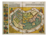 Map of Europe and the World, 1493