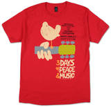Woodstock - Upstate '69 Shirts from Concert Tee Company