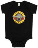Infant: Guns N Roses - Bullet Logo Bodysuit T-Shirt