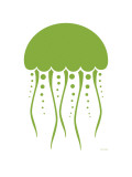 Buy Green Jellyfish at AllPosters.com