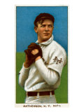 New York City, NY, New York Giants, Christy Mathewson, Baseball Card