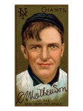New York City, NY, New York Giants, Christopher Mathewson, Baseball Card