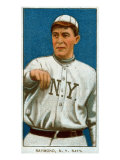 New York City, NY, New York Giants, Bugs Raymond, Baseball Card