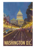 Buy Washington DC, The Capitol Building at AllPosters.com