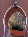 Arched Door and Garden, Morocco