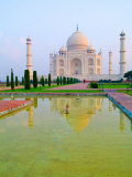 Taj Mahal Temple at Sunrise, Agra, India