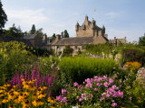 Gardens and Castle Called the Cawdor Castle, Cawdor, Scotland