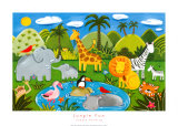 Jungle Fun Art Print