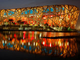 Bird's Nest, 2008 Summer Olympics, Track and Field, Beijing, China
