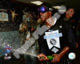 B.J. Upton Game 7 of the 2008 ALCS Celebration
