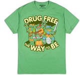 Teenage Mutant Ninja Turtles - Drug Free (Slim Fit)
