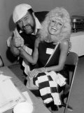 Dom Deluise and Loni Anderson