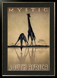 Mystic South Africa Framed Art Print