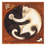 Buy Yin Chi Yang Cats at AllPosters.com