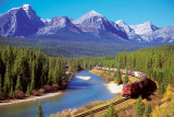 Buy Train In The Rockies at AllPosters.com
