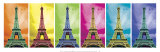 Pop Art Paris Art Print