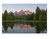 Tetons Photographic Print