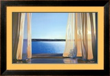 Long Golden Day Framed Art Print