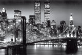 New York Manhattan Black - Berenholtz Poster