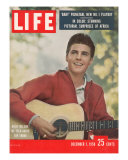 Pop Star Ricky Nelson, December 1, 1958