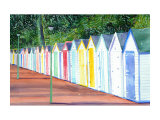 Beach Huts in Devon