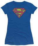 Juniors: DC Comics - Superman - Retro Logo Distressed
