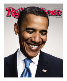 Barack Obama, Rolling Stone no. 1056/1057, July 2008 Photographic Print
