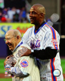 Yogi Berra &amp; Darryl Strawberry Final Game at Shea Stadium 2008