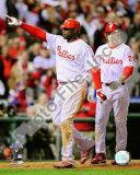 Ryan Howard &amp; Chase Utley Game 4 of the 2008 MLB World Series