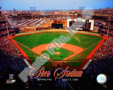 Opening Day of Shea Stadium April 17, 1964 With Overlay