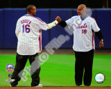 Dwight Gooden &amp; Darryl Strawberry Final Game at Shea Stadium 2008