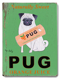 Naturally Sweet Pug Orange Juice