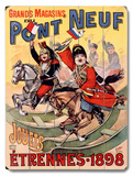 Pont Neuf French Kids Toys Poster