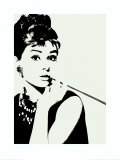 Audrey Hepburn: Cigarillo Art Print