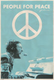 John Lennon - People for Peace Poster