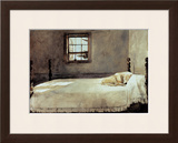 Master Bedroom Framed Art Print
