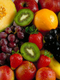 Variety of Fresh and Juicy Fruits Photographic Print