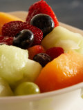 Close-Up of a Variety of Fresh Fruits in Salad