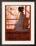 Puccini, Madama Butterfly Framed Art Print