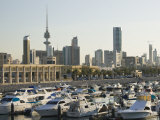 Kuwait City and Sharq Souk Marina, Kuwait