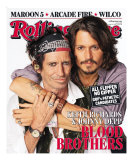 Johnny Depp & Keith Richards, Rolling Stone no. 1027, May 31, 2007