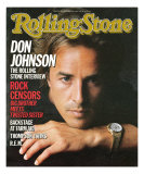 Don Johnson, Rolling Stone no. 460, November 7, 1985
