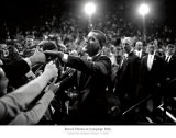 Barack Obama at Campaign Rally Art Print