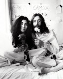 John Lennon and Yoko Ono Photo