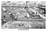 100 Dead Songs Poster