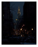Chrysler Building Evening Photographic Print